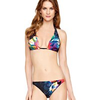 Click to view product details and reviews for Gottex Cosmic Petals Halter Bikini.