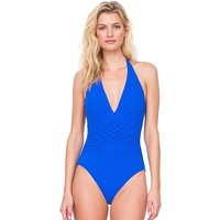 Click to view product details and reviews for Gottex Divine Halter Neck Swimsuit.