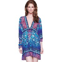 Click to view product details and reviews for Gottex Exotic Peacock Beach Dress.