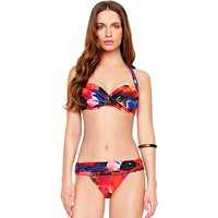 Click to view product details and reviews for Gottex Garden Of Eden Halter Surplice Bikini.