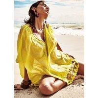 Iconique Flores Summer Lemon Poncho