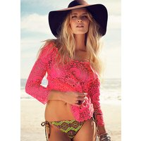 Click to view product details and reviews for Lingadore Boho Crocheted Top.