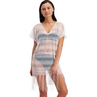 Click to view product details and reviews for Moontide V Neck Cover Up.