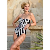 Click to view product details and reviews for Palm Beach Skeletto Bandeau Swimsuit.