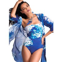Click to view product details and reviews for Roidal Blue Flower Cala Swimsuit.