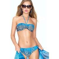 Roidal Sauvage Blue Leila Halter Bikini
