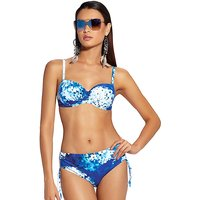 Click to view product details and reviews for Roidal Blue Flower Taria Bikini.