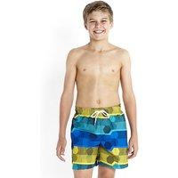 Speedo Boys Print Leisure 15 Inch Swim Short