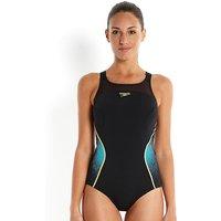 Speedo Fit Pinnacle X-back Black Swimsuit