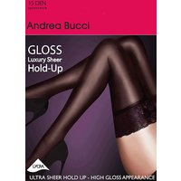 Andrea Bucci Gloss Luxury Lace Top Hold Ups