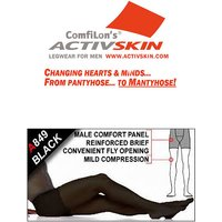 Activskin Thermofabric Opaque Light Support With Fly Tights (A849)