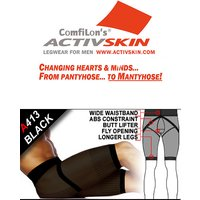 Activskin Abs-Sense Shaper Boxer Briefs With Fly (A413)