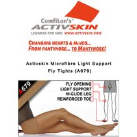 Activskin Microfibre Light Support With Fly Tights (A679)