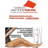 Activskin Microfibre Ultra Sheer To Waist Tights (A1730)