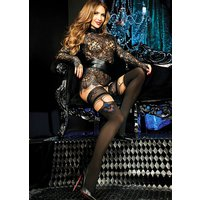 Ballerina Andromeda Suspender Lace Top Hold Ups