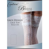 Couture Lace Design Bridal Lace Top Hold Ups