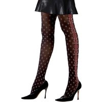 Cecilia De Rafael Brocatelle Fashion Tights
