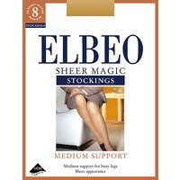 Elbeo Sheer Magic Medium Support Stockings