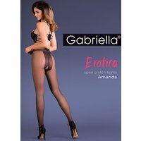 Gabriella Amanda Open Crotch Tights