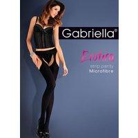 Gabriella Microfibre Strip Panty Tights