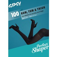 Gipsy Bum Tum and Thigh 100 Opaque Shaper Tights