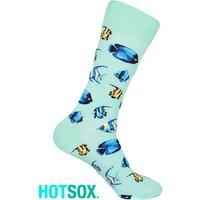 Hotsox Mens Tropical Fish Socks