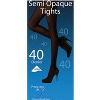 Pretty Legs 40 Denier Semi Opaque Tights
