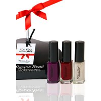 Pierre Rene Professional Essentials Nail Polish Kit