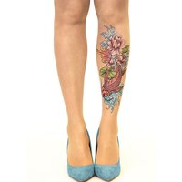 Stop And Stare Fish N Flowers Tights