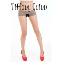 Tiffany Quinn Cool Crotchless Tights 3 Pair Pack