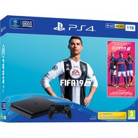 Sony Playstation 4 1TB chassis F + FIFA 19