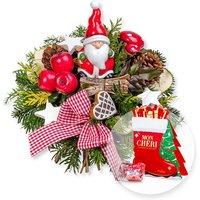 Santa Claus und Mon Cheri Stiefel