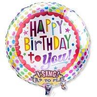 Singender Ballon Happy Birthday to You!