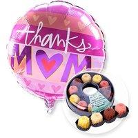 Ballon Thanks Mom und Kaffeekränzchen