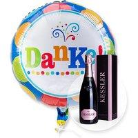 Ballon Danke und Kessler Rose Sekt