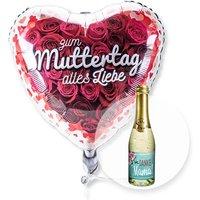 Ballon Zum Muttertag alles Liebe und Piccolo Danke Mama