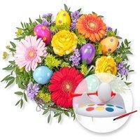 Osterfreude und Eier-Mal-Maschine