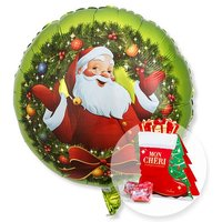 Ballon Nostalgie-Santa und Mon Cheri Stiefel