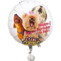 Singender Ballon - Tierische Geburtstagsgrüße Hunde