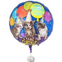 Singender Ballon - Tierische Geburtstagsgrüße Katzen
