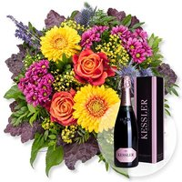 Colours und Kessler Rose Sekt