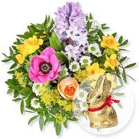 Frühlingsgruß und Lindt-Goldhase