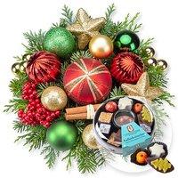Weihnachtsfreude und Adventskaffee