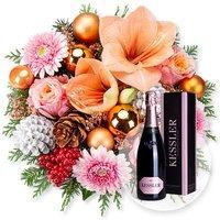 Weihnachtsmorgen und Kessler Rose Sekt