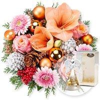 Weihnachtsmorgen und Dreamlight Gold-Engel