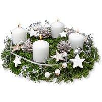 Adventskranz Weiße Weihnacht (30cm)