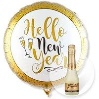 Ballon Hello New Year Glitter und Freixenet Semi Seco