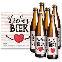 Sixpack Liebes-Bier