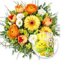Frühlingssonne und Süßer Ostergruß