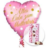 Ballon Alles Liebe zum Muttertag und Herz-Pralinen-Trio